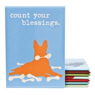 Dog Is Good Magnet – Count Your Blessings