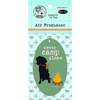 Air Freshener – Never Camp Alone