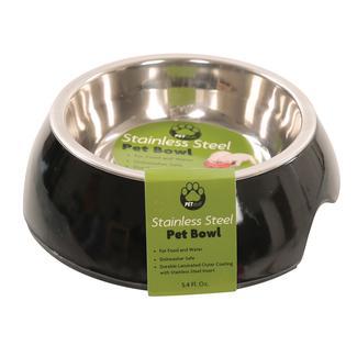 Small Pet Bowl, Black