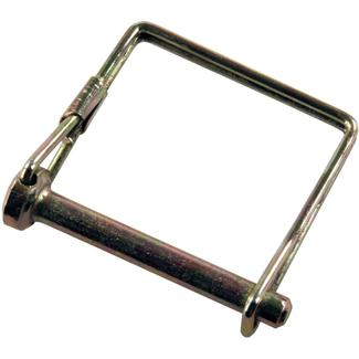 "Trailer Coupler Safety Pin Clip with Pin Saver, 5/16"" x 2 1/2"""