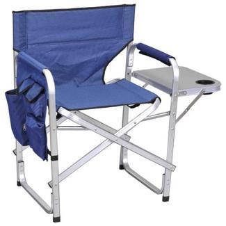 Ming's Mark Inc Director's Folding Chair, Blue