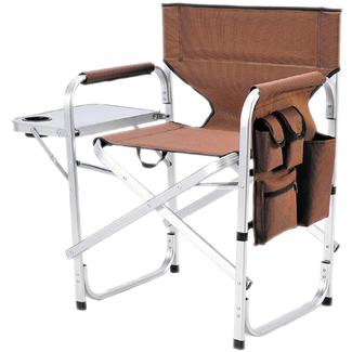 Ming&#x27&#x3b;s Mark Inc Director&#x27&#x3b;s Folding Chair, Brown