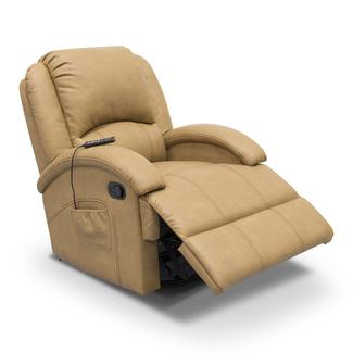 Thomas Payne Collection Heritage Series Swivel Glider Recliner, Oxford Tan