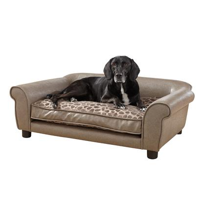 Rockwell Pet Sofa, Pewter