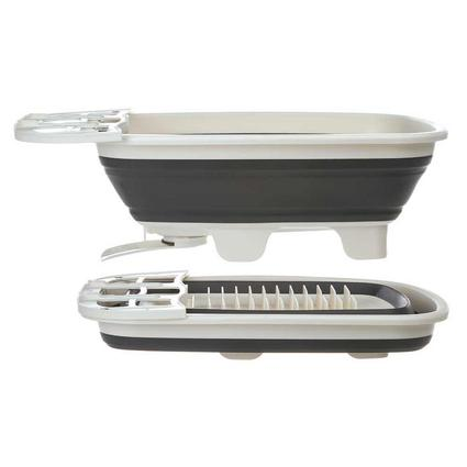 Swivel Collapsible Dish Rack