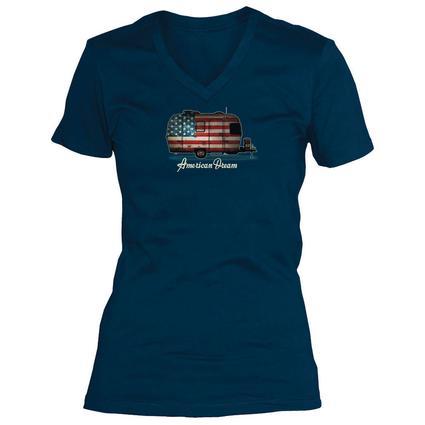 Women's, Camper Flag Tee, L