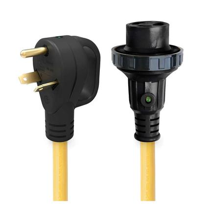 30 30 Amp Detachable Power Cord with Handle Indicator Light