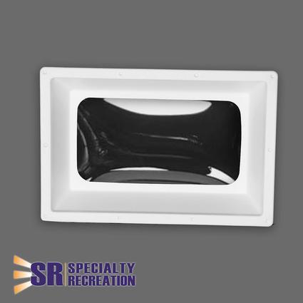 Rectangular Inner Rv Skylight White Frameclear Top 14 X 22