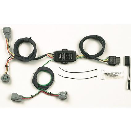 105712n wiring plug in simple! towing vehicle wiring kit for toyota, 4 way flat