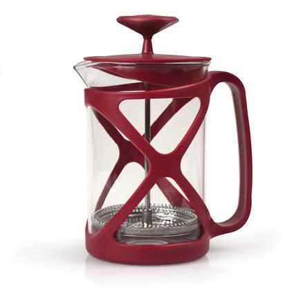 Tempo 6 Cup Coffee Press Red