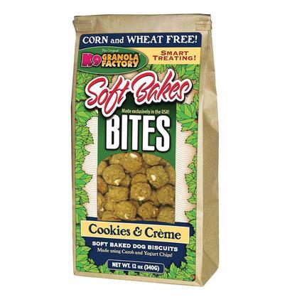 Soft Bakes Cookies Creme Bites Mini Dog Treats, 12 oz. Bag