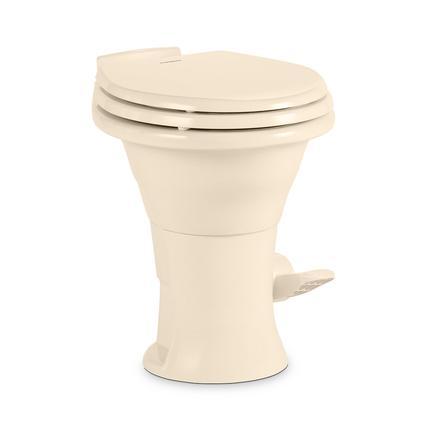 Dometic 310 Series High Profile Gravity Discharge Toilet, Bone, 18