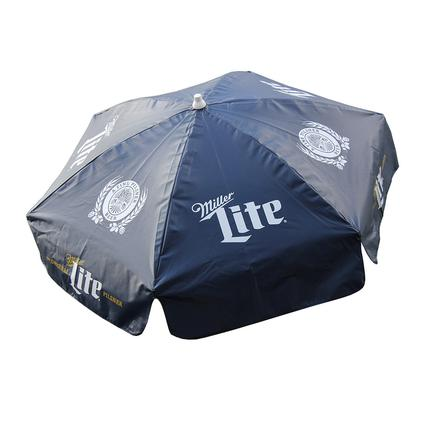 Miller Lite Vinyl Patio Umbrella, 6'