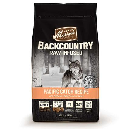 Merrick Backcountry Dog Food, Pacific Catch, 22 lb. Bag