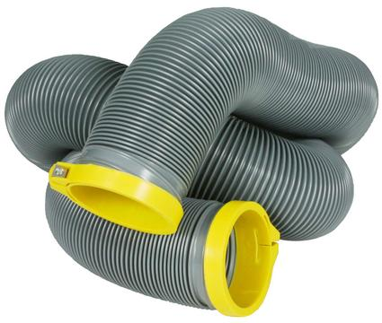 Self-Clamping RV Sewer Hose