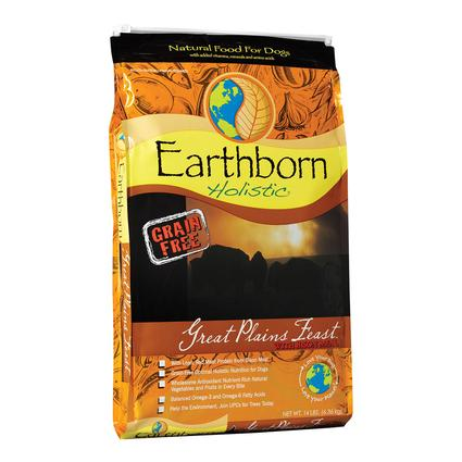 Earthborn Holistic Great Plains Feast Grain-Free Dry Dog Food, 14 lb. Bag