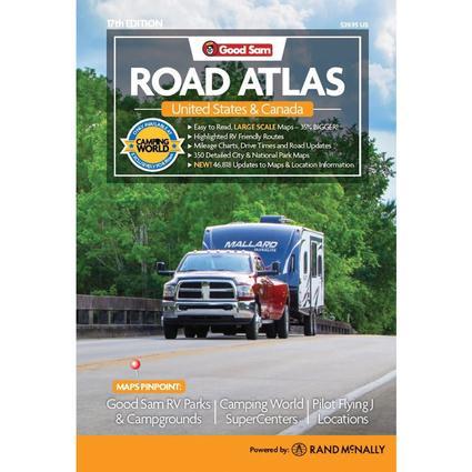 2017 good sam auto & rv road atlas rand mcnally 0528015982.