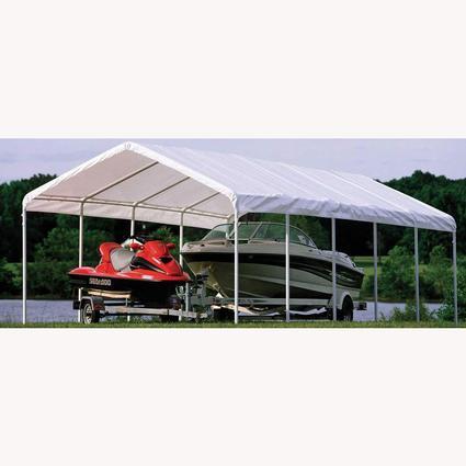 SUPER MAX 12-Leg Canopy 12u0027 x 30u0027 & SUPER MAX 12-Leg Canopy 12u0027 x 30u0027 - Shelterlogic 25767 - Instant ...