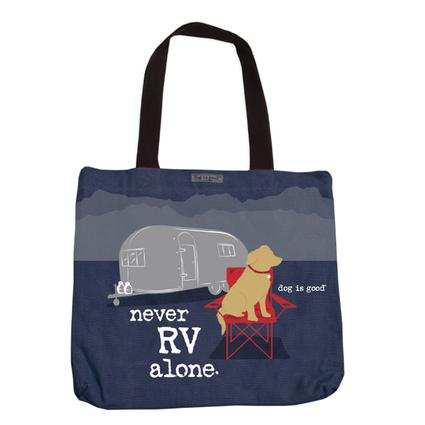 Never RV Alone Tote