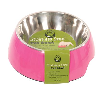 Medium Pet Bowl, Fuschia