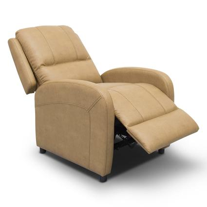 Thomas Payne Collection Heritage Series Pushback Recliner, Oxford Tan
