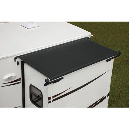 dometic deluxe slidetopper with vinyl weathershield dometic rv