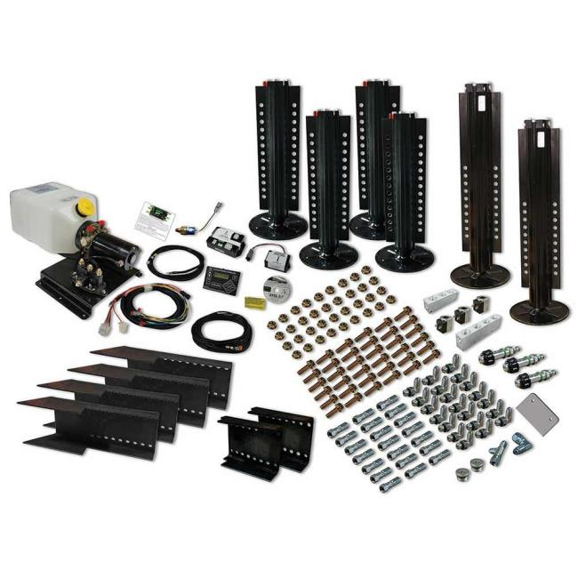 level up automatic hydraulic leveling system 6 point kit lippert rh campingworld com Von Weise Landing Gear Von Weise Landing Gear