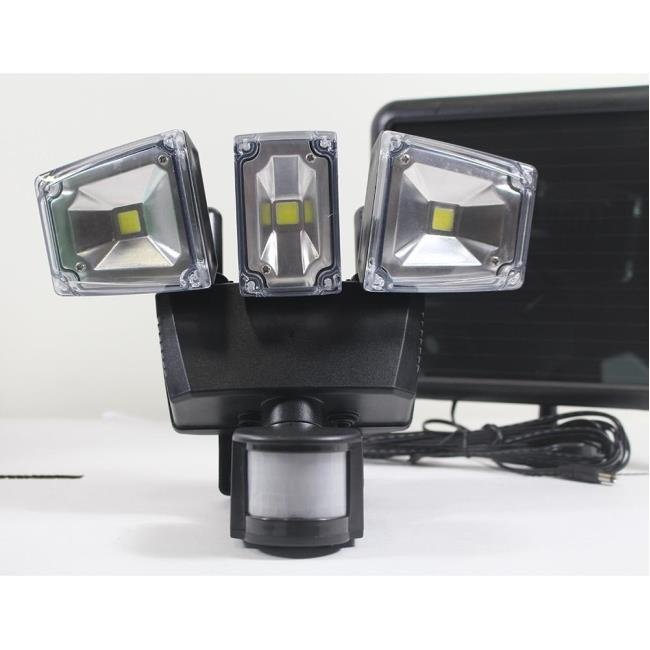 Nature power solar motion activated 1200 lumens triple head security image nature power solar motion activated 1200 lumens triple head security light to enlarge aloadofball Gallery