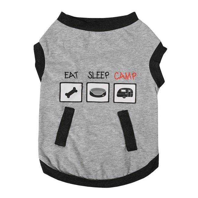3c7932b04058c Camping Pet Tee, Large