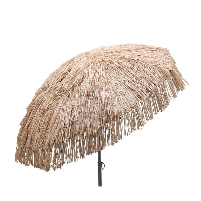 Image Palapa Tiki Patio Umbrella 6 Ft   Whiskey Brown. To Enlarge The Image,