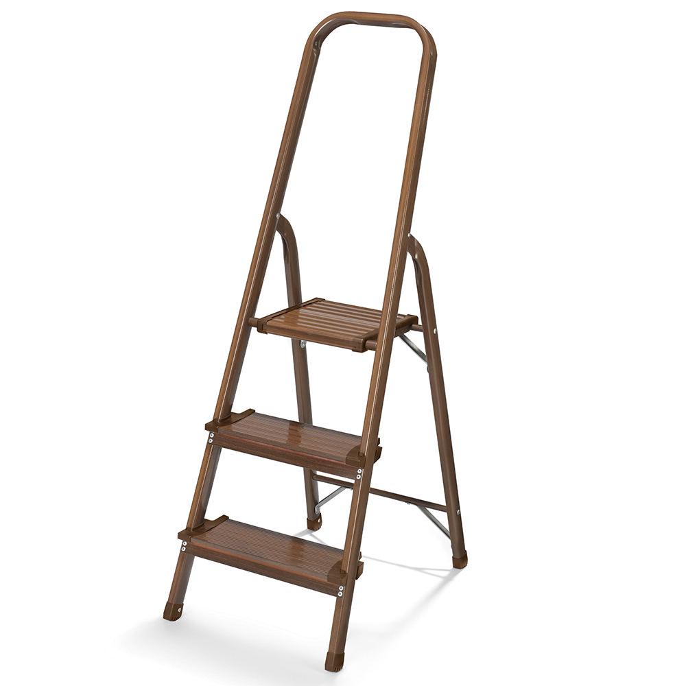 3 Step Stool Chestnut Polder Products Llc Ldr 3500 104r