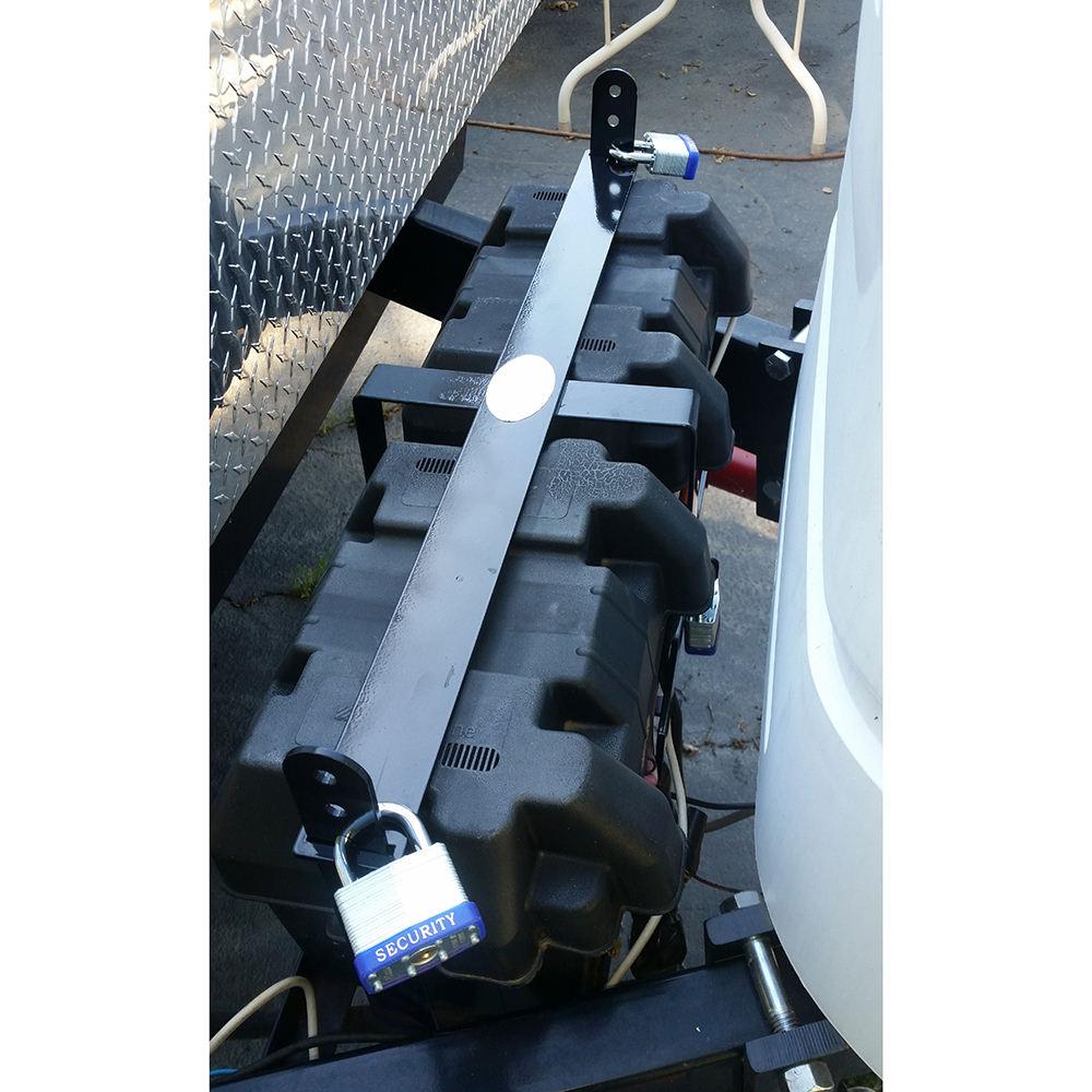 Dual Battery Lock Battery Shackle Splash001 Ent Llc
