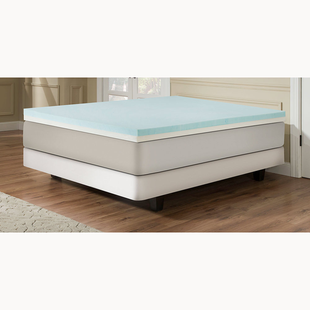 4 Gel Memory Foam Combo Mattress Toppers Independent Furniture