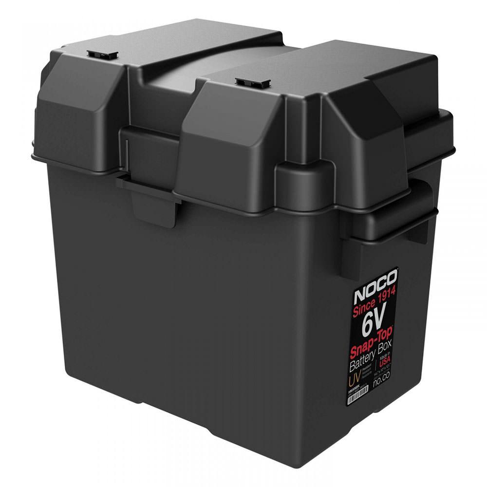 6 Volt Snap Top Battery Box Noco Company Hm306bk Batteries Wiring Diagram Camping World