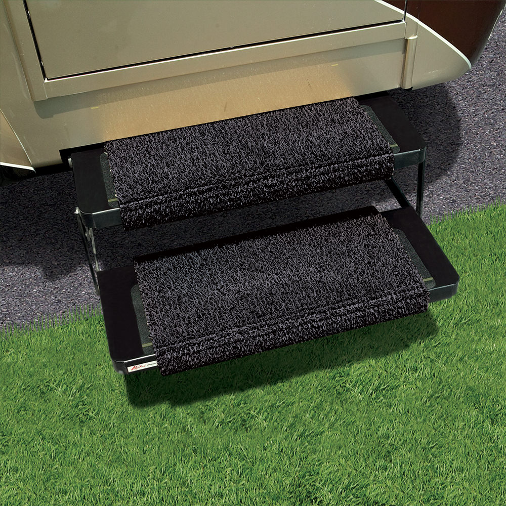 Rv Step Mat 13 Quot X 18 Quot Flint Grassworx 10376326 Step