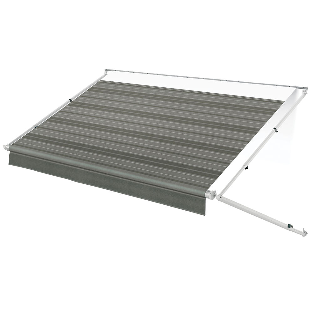 Portable Rv Awning Covers : Dometic geared sunchaser patio awning with white vinyl
