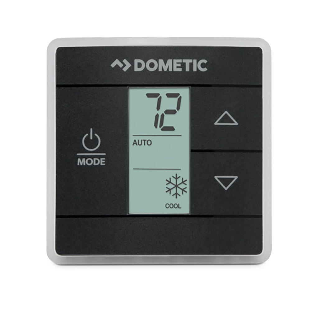 Dometic Standard Ct Thermostat Black 3316250012 Single Zone Wiring Diagram Thermostats Camping World