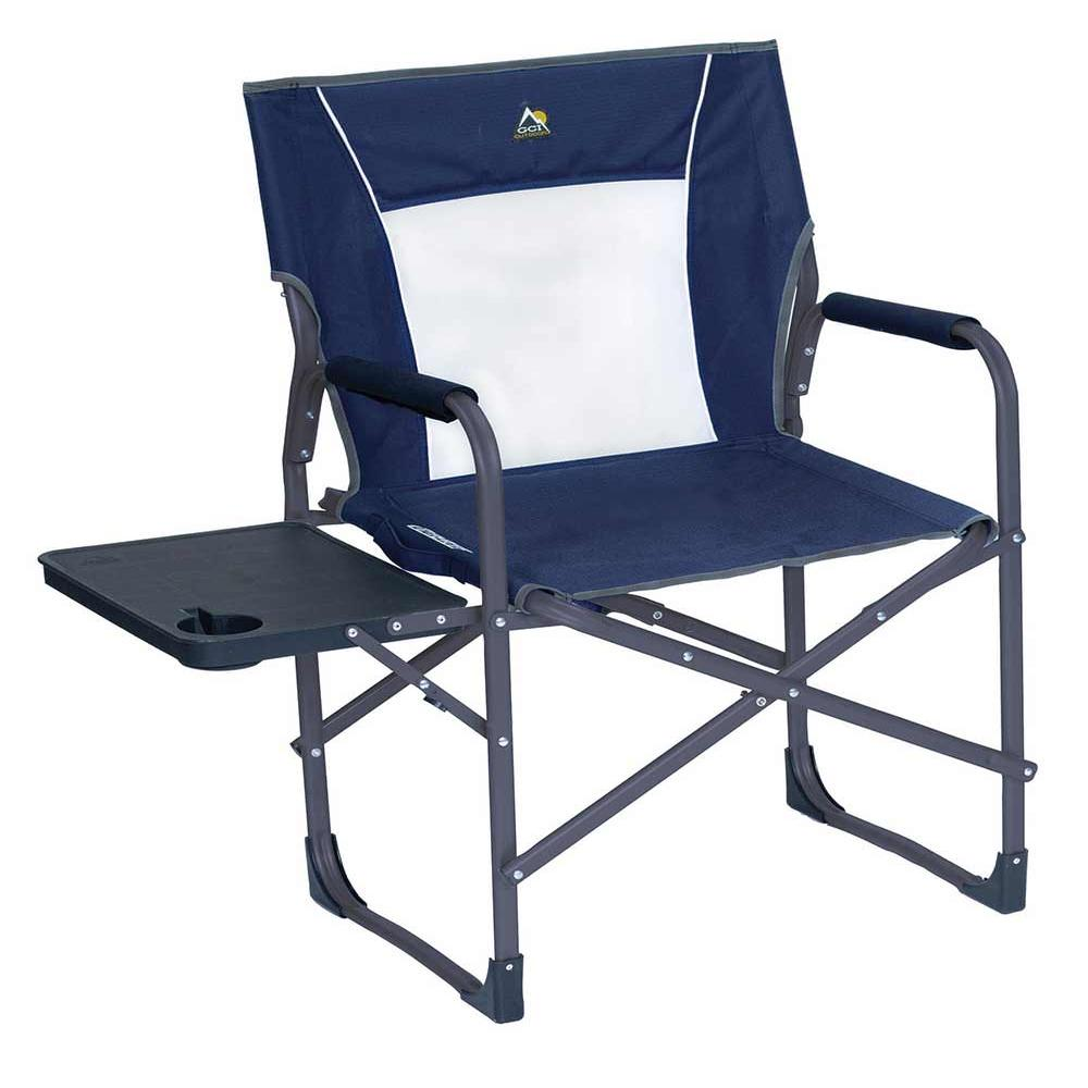 scroll previous image  sc 1 st  C&ing World & Slim-Fold Directoru0027s Chair Midnight - GCI Outdoor 36514 ...