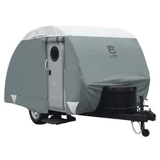 Classic Accessories PolyPRO 3 Deluxe Teardrop Trailer Cover, Up to 8'