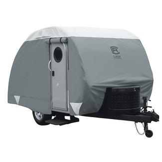 Classic Accessories PolyPRO 3 Deluxe Teardrop Trailer Cover, 8'-10'