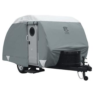 Classic Accessories PolyPRO 3 Deluxe Teardrop Trailer Cover, 10'-12'