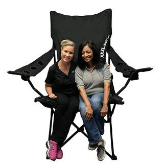 XXL Giant Sized Camp Chair, Black
