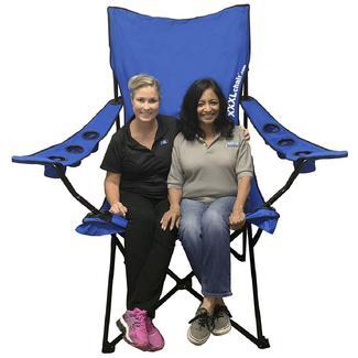 XXL Giant Sized Camp Chair, Blue