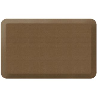 "NewLife by GelPro Designer Comfort Kitchen Mat, 20"" x 32"", Grasscloth Khaki"