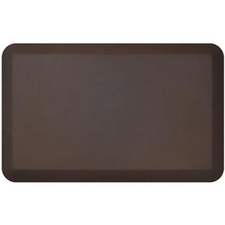 NewLife by GelPro Designer Comfort Kitchen Mat, 20&quot&#x3b; x 32&quot&#x3b;, Leather Grain Truffle