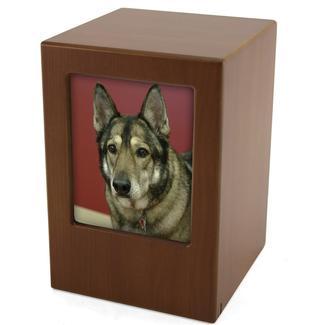 Photo Frame Pet Urn, Honeynut, X-Large