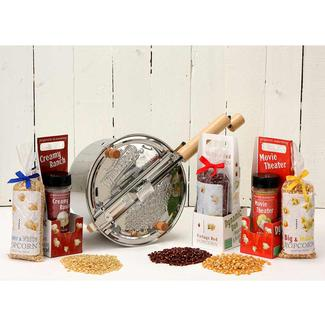 Dynamic Duos Popcorn Set featuring the Stainless Steel Whirley Pop™