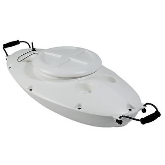 CreekKooler Floating Cooler, White