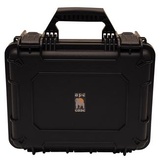 Watertight Storage Case with Customizable Foam Interior, Compact