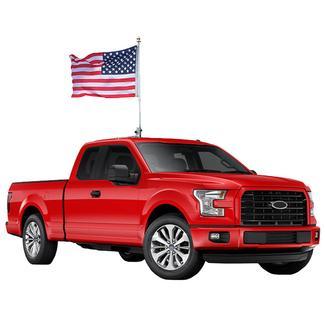 The Beast Car Flag